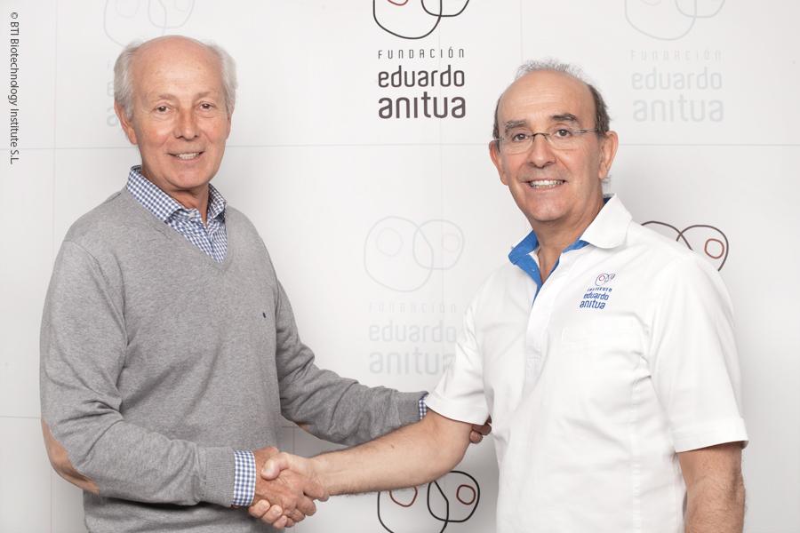 La Fundación Beroa y la Fundación Eduardo Anitua renuevan su compromiso para mejorar la calidad de vida de los enfermos mentales de Álava