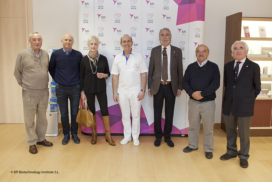 The management of the College of Physicians of Álava visits BTI