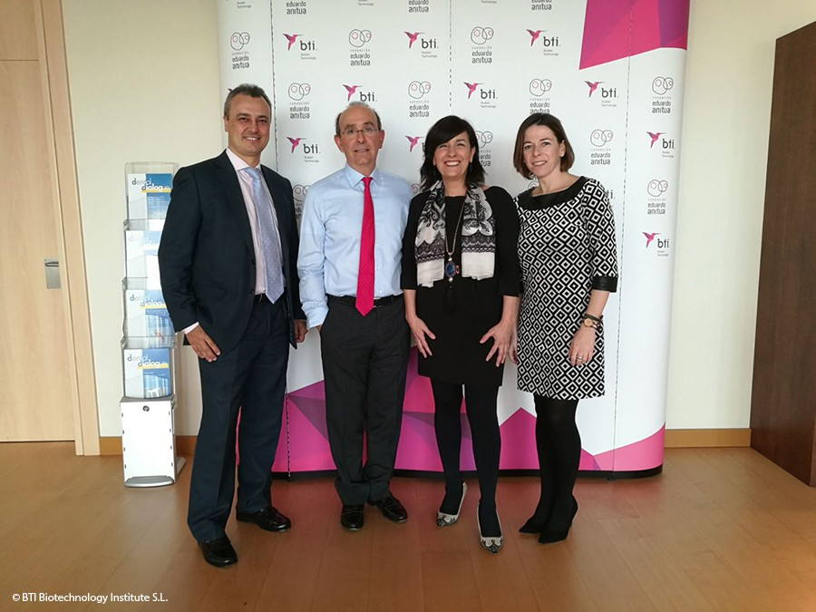 The management of the Network of Technology Parks of Euskadi visits BTI