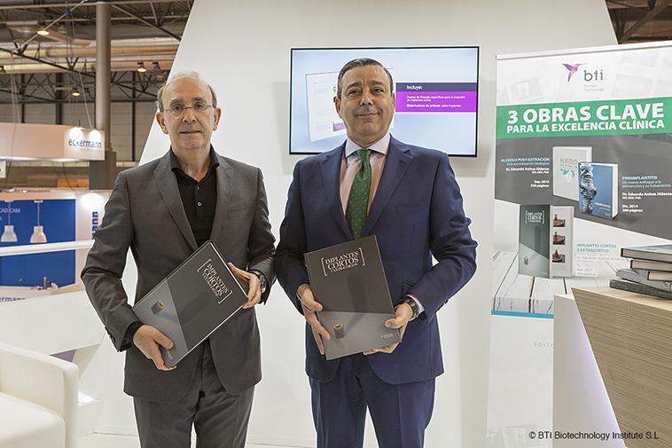 Eduardo Anitua presenta su libro sobre implantes cortos en Expodental